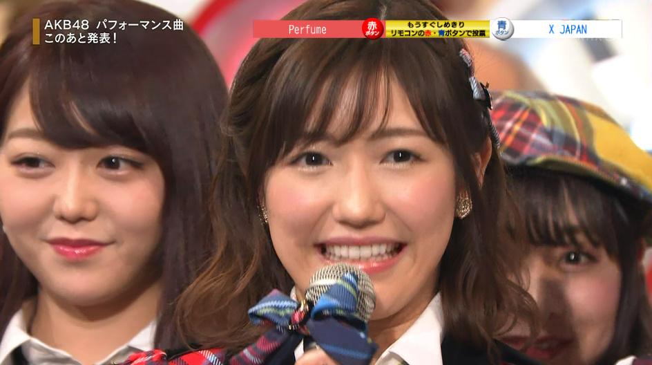 NHK紅白【渡辺麻友】『11月のアンクレット』が1位になりました\(^o^)/