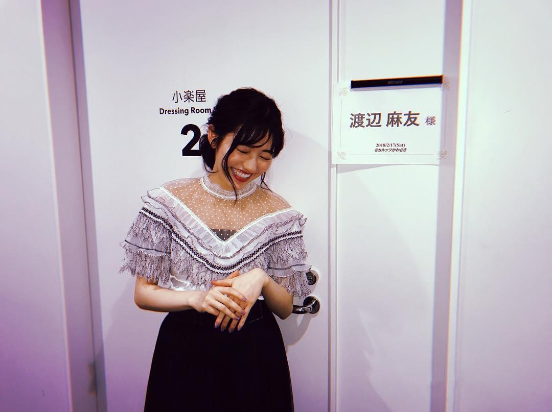 【渡辺麻友】ソロライブSNS