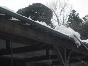 180127サブのために雪おろし