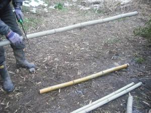 180130竹を切る