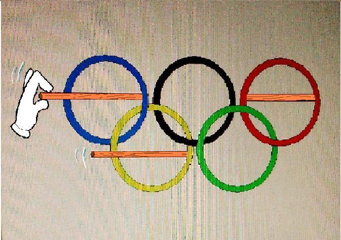貫けぬオリンピック精神