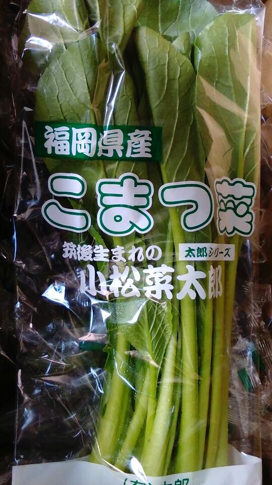 0127小松菜