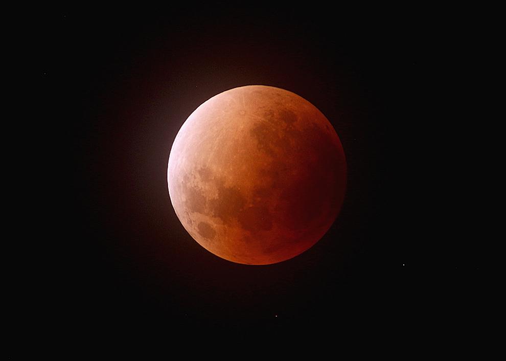 皆既月食2018年1月31日(皆既食)
