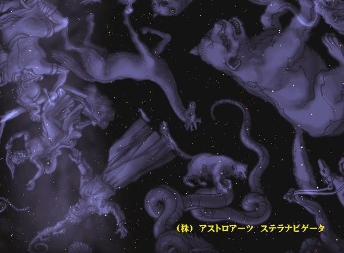 2018年1月4日しぶんぎ座流星群星座絵001