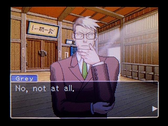 逆転裁判2 北米英語版 Forrest Gump7