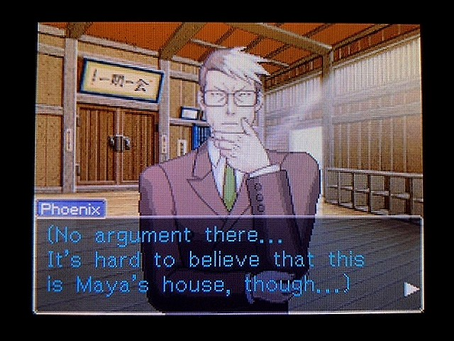 逆転裁判2 北米英語版 Forrest Gump11