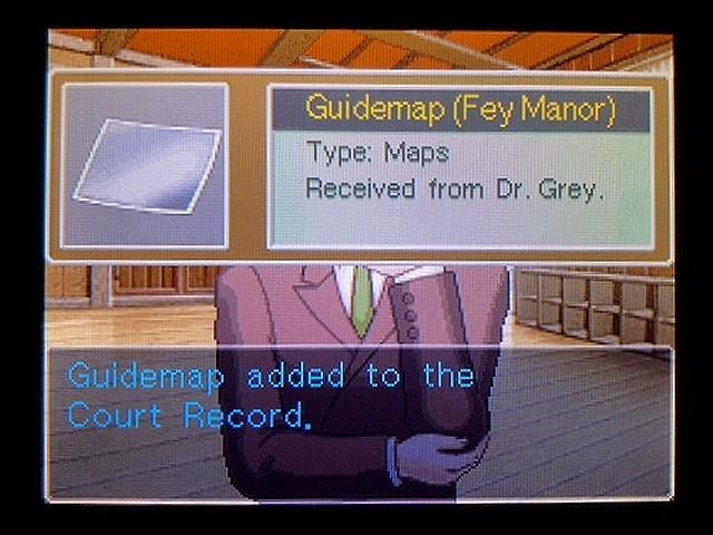 逆転裁判2 北米英語版 Forrest Gump13