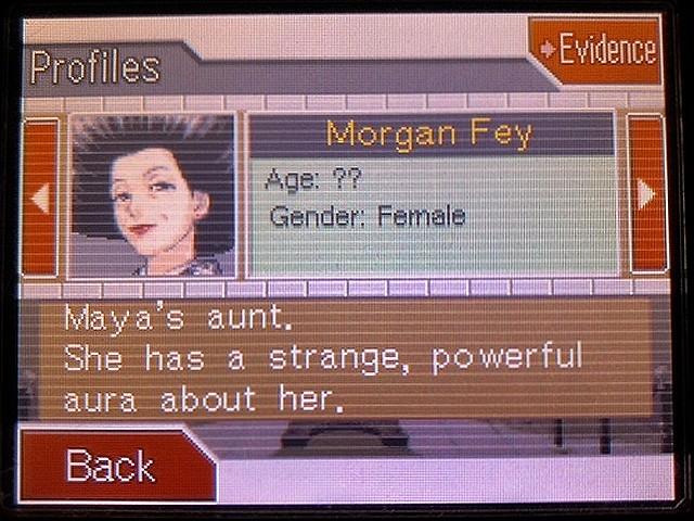 逆転裁判2 北米英語版 Morgan Fey31