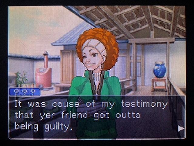 逆転裁判2 北米英語版 南部訛りの女31