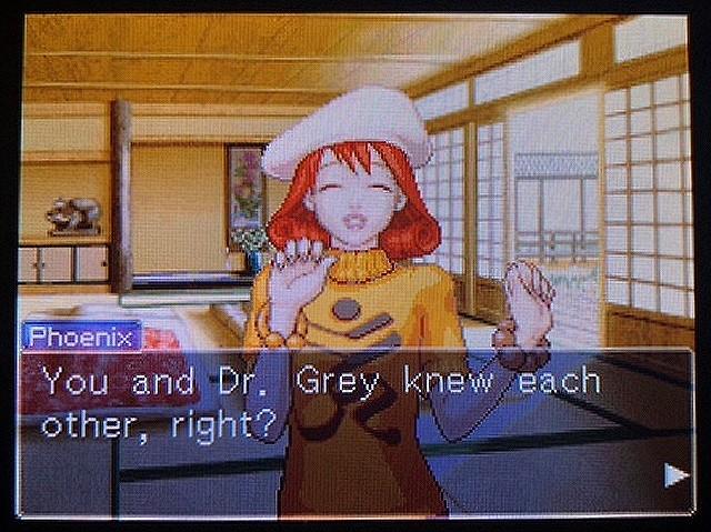 逆転裁判2 北米英語版 A Mysterious Girl23