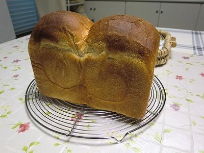 2018年初焼きー食パン