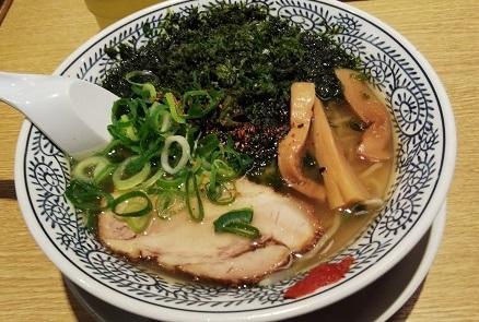 20180129 丸源塩ラーメン ブログ