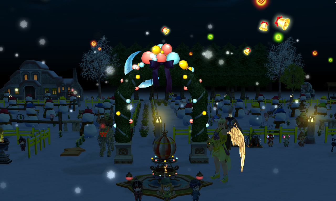 雪玉イベント1