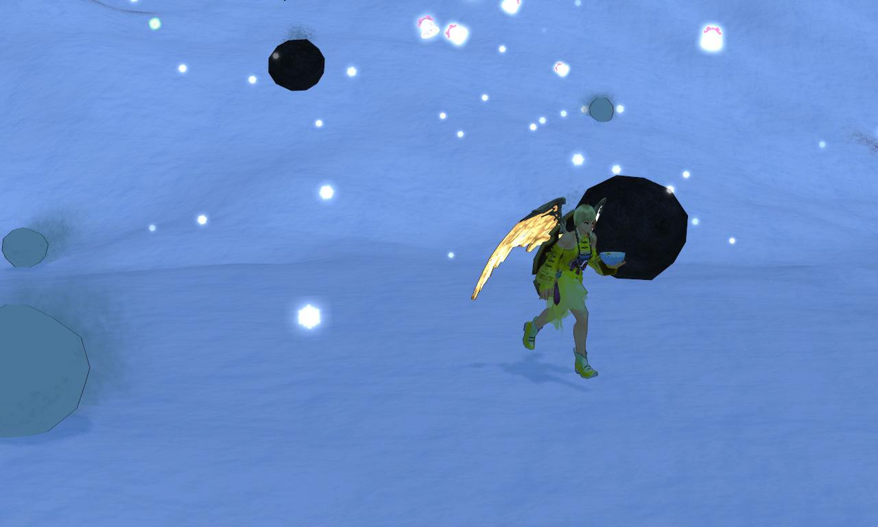 雪玉イベント3