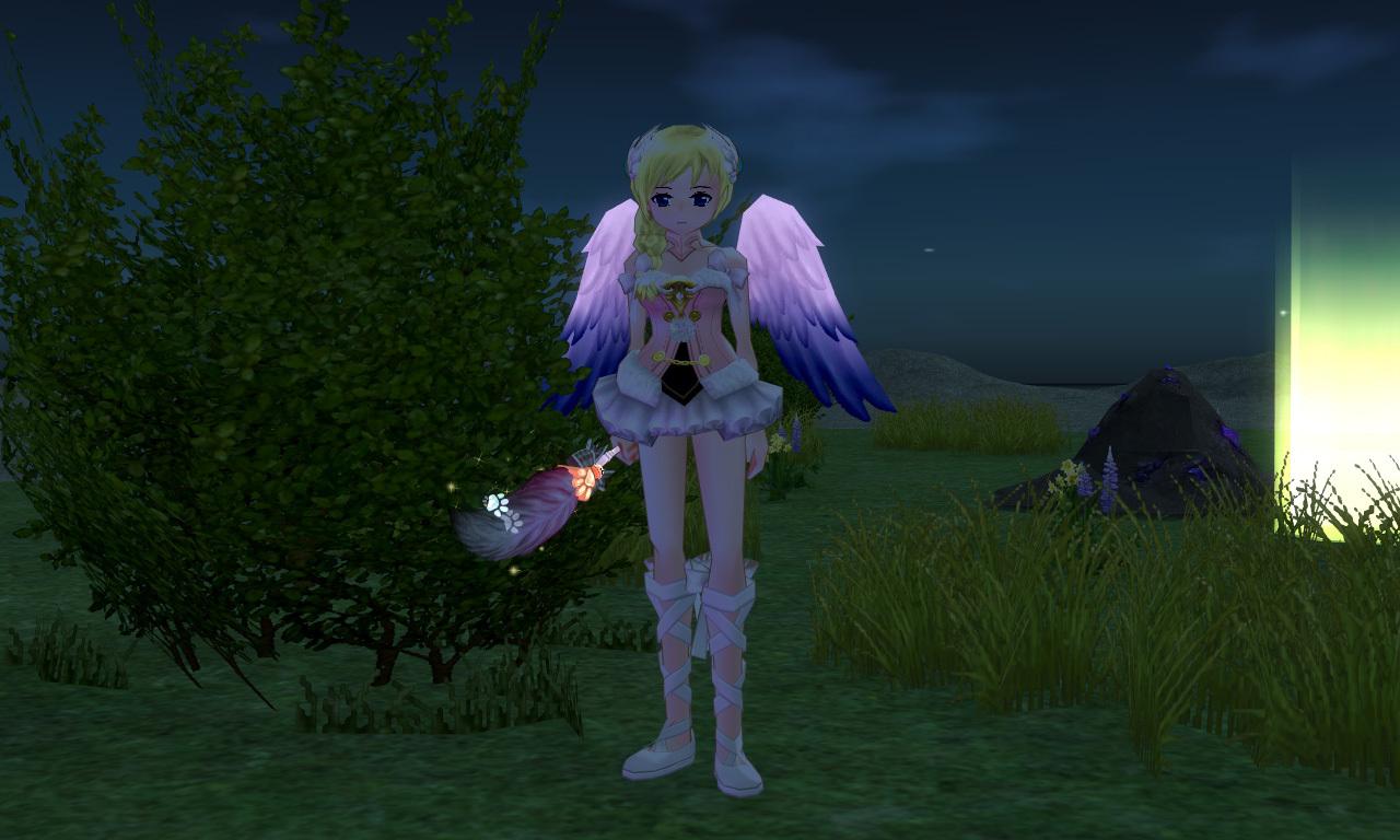 ツートーンキューピッドの翼1