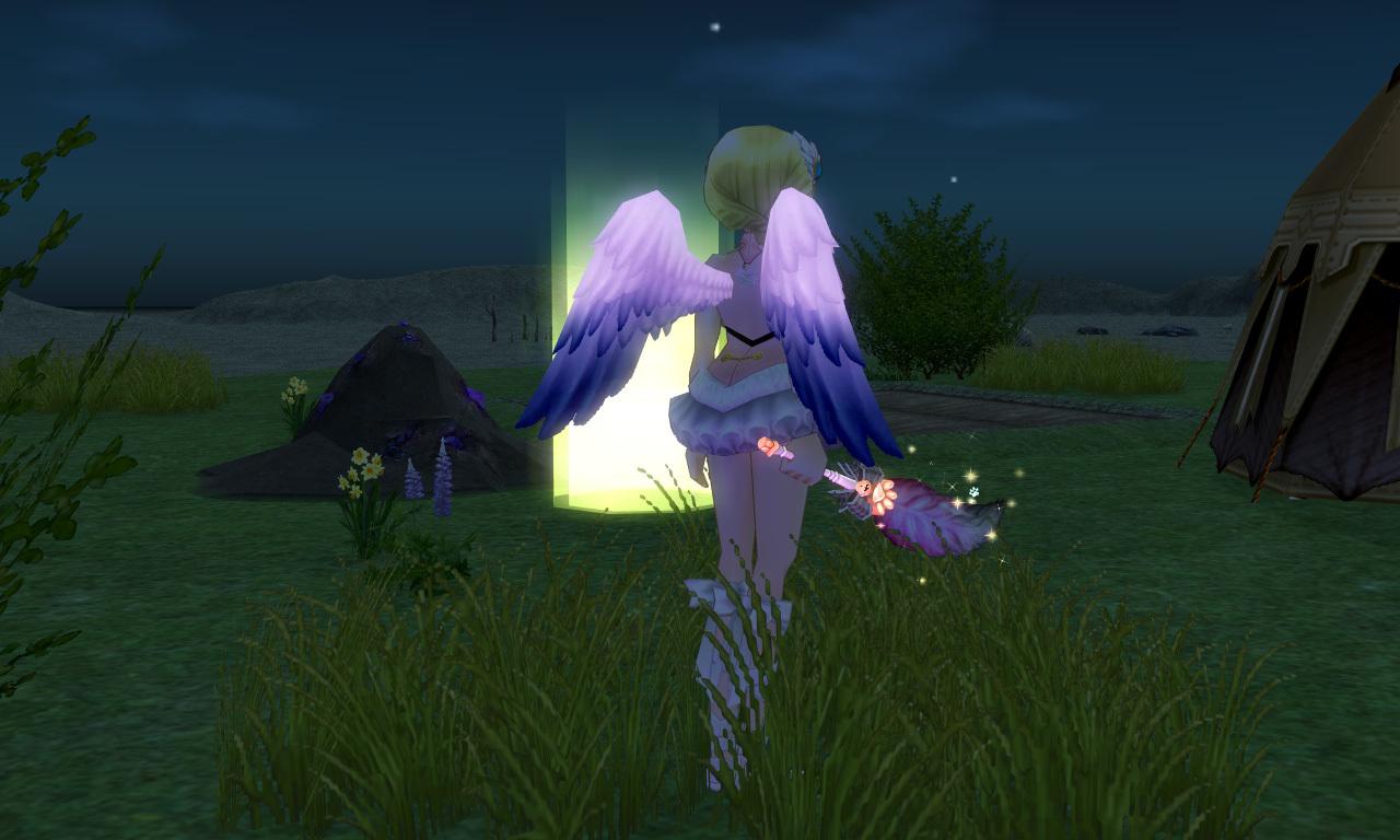 ツートーンキューピッドの翼2