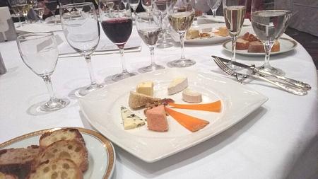 チーズ・ワイン