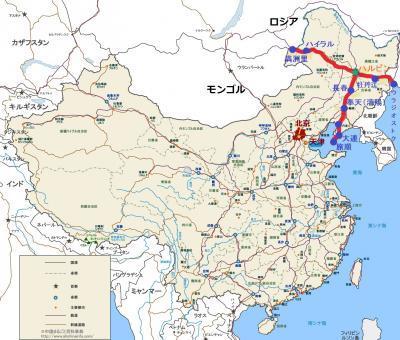 東清鉄道地図1