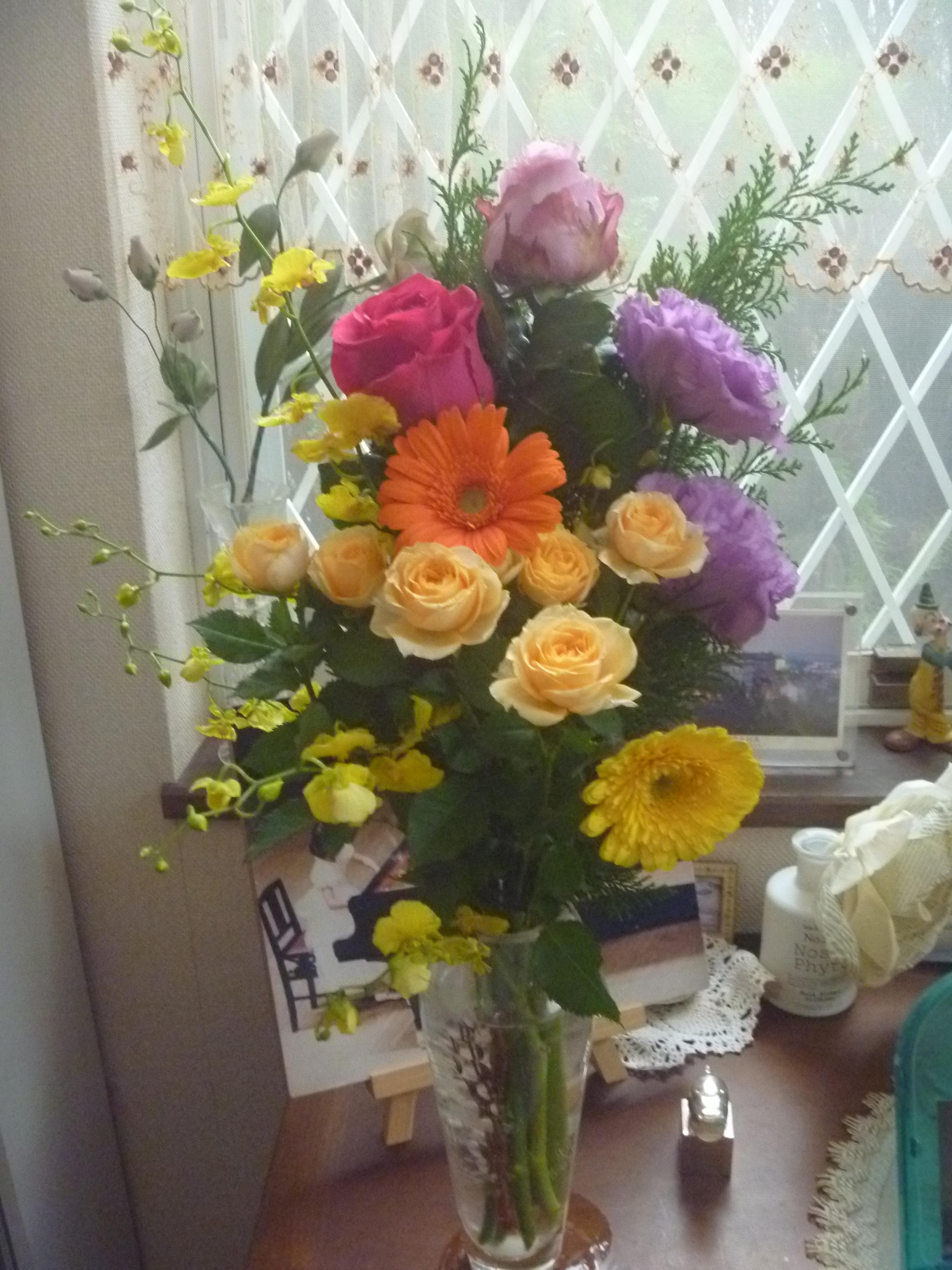 お花をどうも有難うございました。   ピアニスト谷真子Official Blog ...