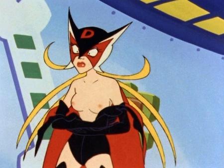 ヤッターマン1977 ドロンジョ様の胸裸ヌード乳首56