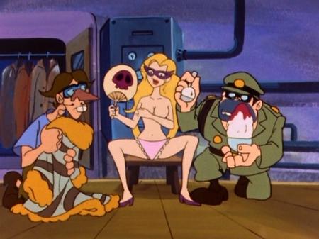 ヤッターマン1977 ドロンジョ様の胸裸ヌードパンツ60
