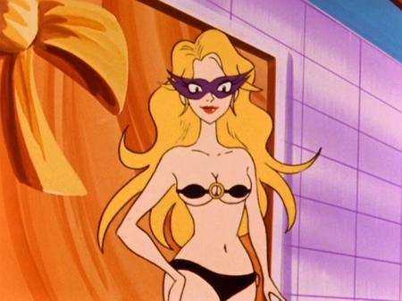 ヤッターマン1977 ドロンジョ様の胸裸ヌードパンツ61