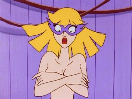 ヤッターマン1977 ドロンジョ様の胸裸ヌード76