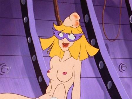 ヤッターマン1977 ドロンジョ様の胸裸ヌード乳首77