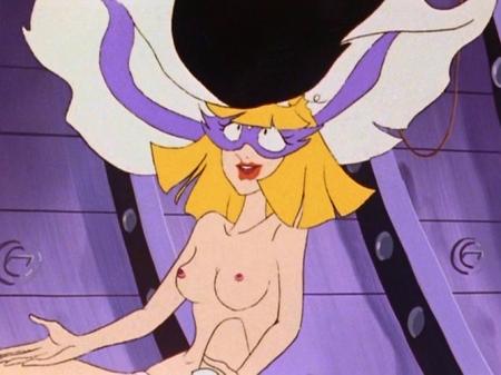 ヤッターマン1977 ドロンジョ様の胸裸ヌード乳首78