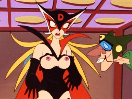 ヤッターマン1977 ドロンジョ様の胸裸ヌード乳首86