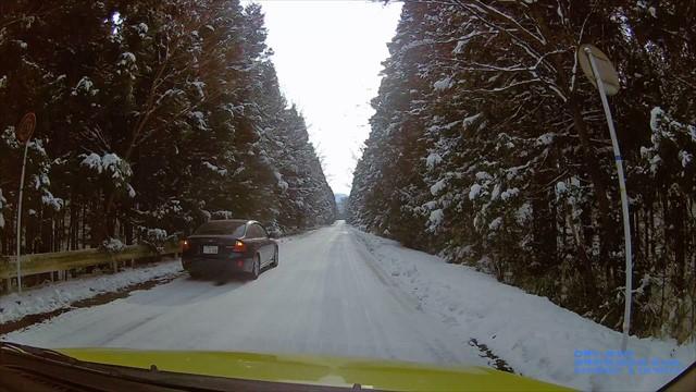 雪の英彦山ドライブ-5