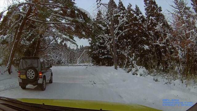 雪の英彦山ドライブ-6