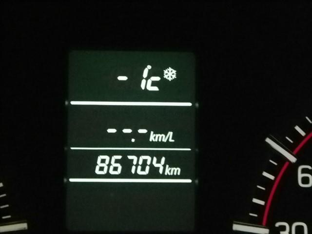気温-1度