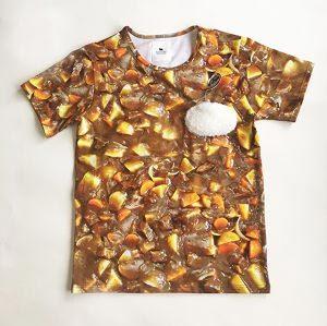 カレーライスTシャツ