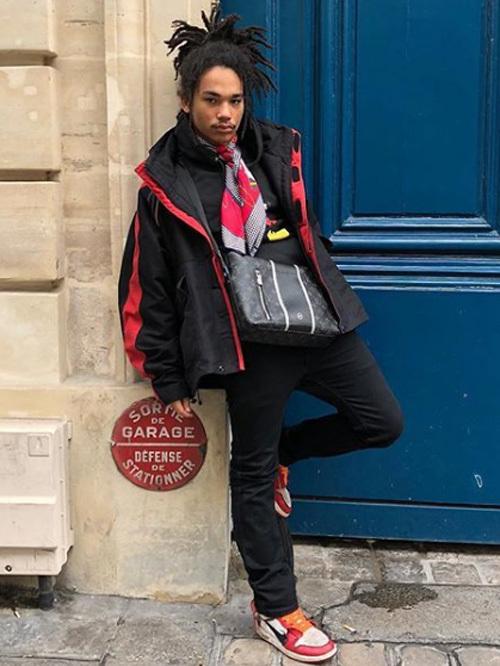 ルカ・サバト(Luka Sabbat):バレンシアガ(Balenciaga)/オフ-ホワイト C/O ヴァージル アブロー(OFF-WHITE C/O VIRGIL ABLOH)×ナイキ(NIKE)/ルイヴィトン(Louis Vuitton)×フラグメントデザイン(fragment
