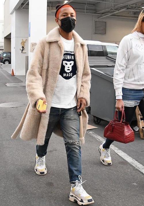 ファレル・ウィリアムス(Pharrell Williams):セリーヌ(Celine)/ヒューマンメイド(Human Made)/バレンシアガ(Balenciaga)×ドーバーストリートマーケット(Dover Street Market)