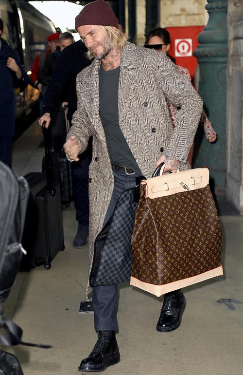デヴィッド・ベッカム(David Beckham):ケント・アンド・カーウェン(Kent And Curwen)ルイヴィトン(Louis Vuitton)