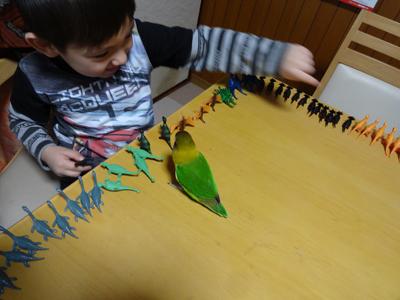 恐竜とKM2