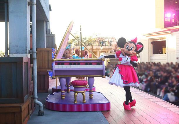 ミニーちゃんとピアノのセットはすぎょい1