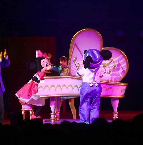 ミニーちゃんとピアノのセットはすぎょい3
