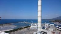 三隅石炭火力発電所外観