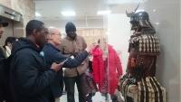 郷土博物館の鎧兜展示