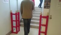 千葉城の赤いゲート