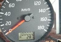 走行距離100000キロ