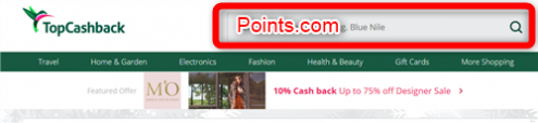 Points.comを検索