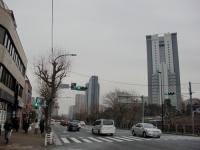 コヨシ@市ヶ谷・20180111・交差点