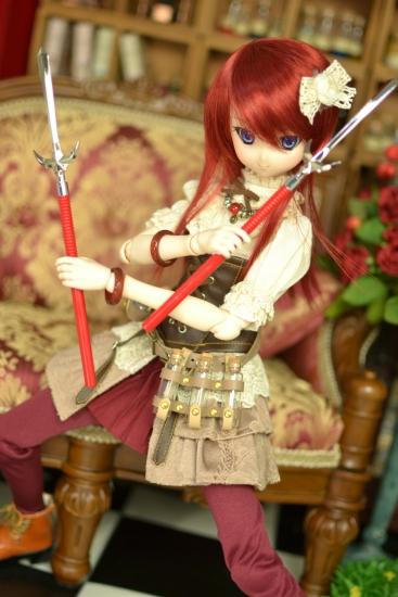 十文字槍ペーパーナイフ-1