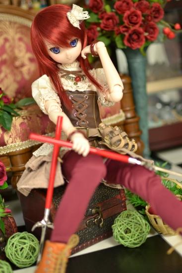 十文字槍ペーパーナイフ-4