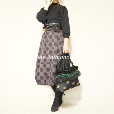 バルーン袖黒2