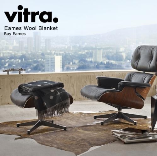 Eames Wool Blanket(イームズ ウール ブランケット) Charles & Ray Eames(チャールズ&レイ・イームズ)vitra(ヴィトラ)
